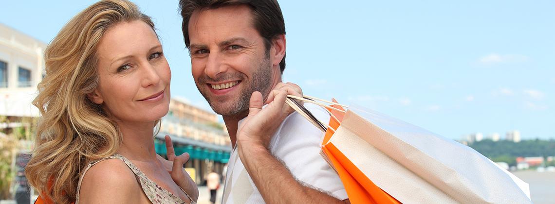 tatilde alışveriş