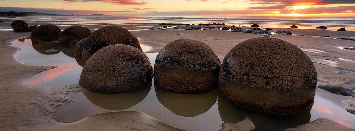 moeraki kayaları