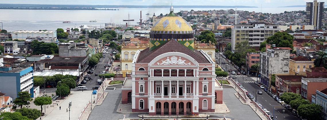 Amazon Tiyatrosu, Manaus, Brezilya