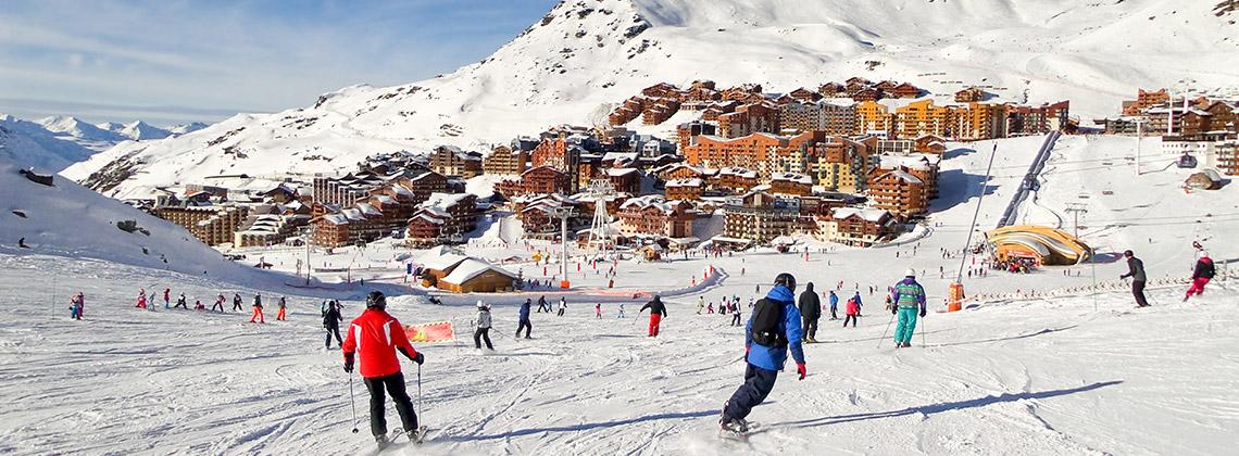 Avrupa'nın Ünlü Kayak Merkezleri