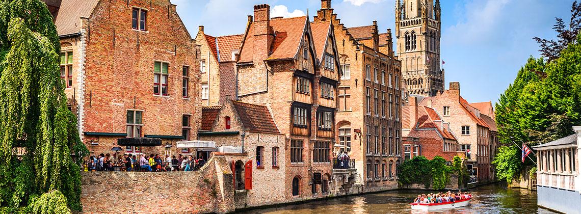 Brugge Muhteşem Mimari