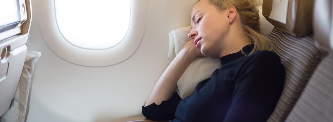 Rahat Bir Uçuş Koltuk