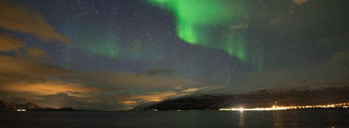 oslo norveç kuzey ışıkları