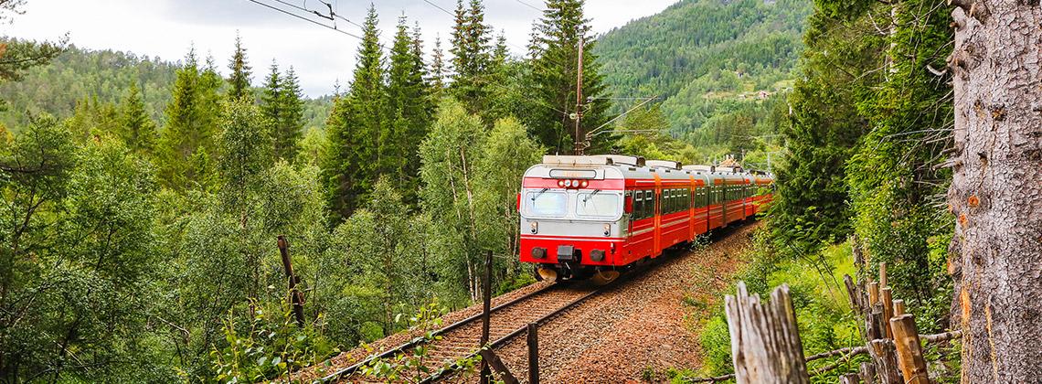 Yemyeşil Bir Doğa İçinde Nefes Kesen Bir Rota: Bergen Line