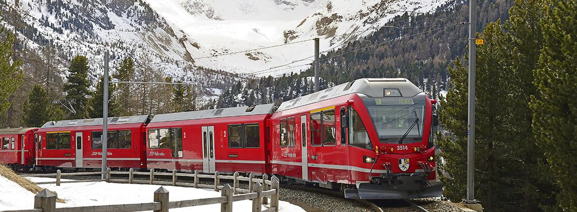 İtalya'dan İsviçre'ye Uzanan Bir Dünya Mirası: Bernina Express
