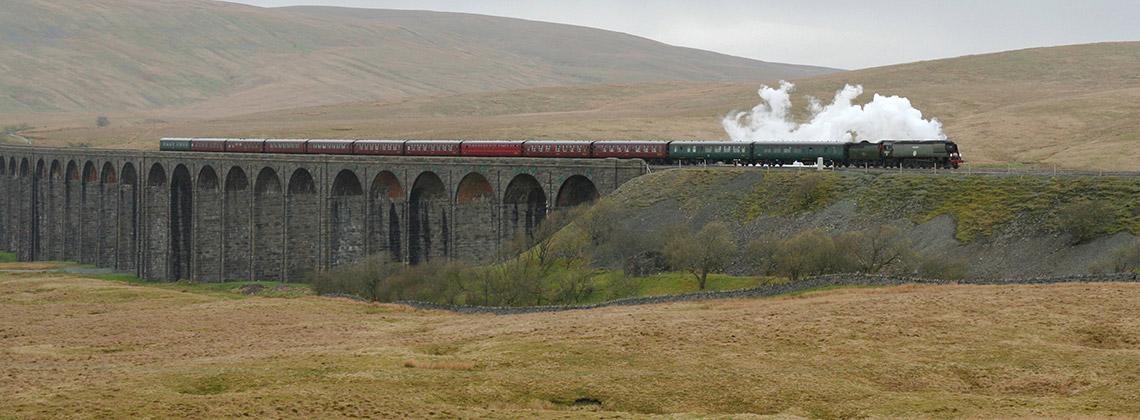 İngiltere'nin En Güzel Tren Rotası: Settle-Carlisle