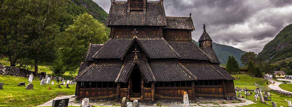 Borgund Stave Kilisesi (Borgund Stave Church), Norveç