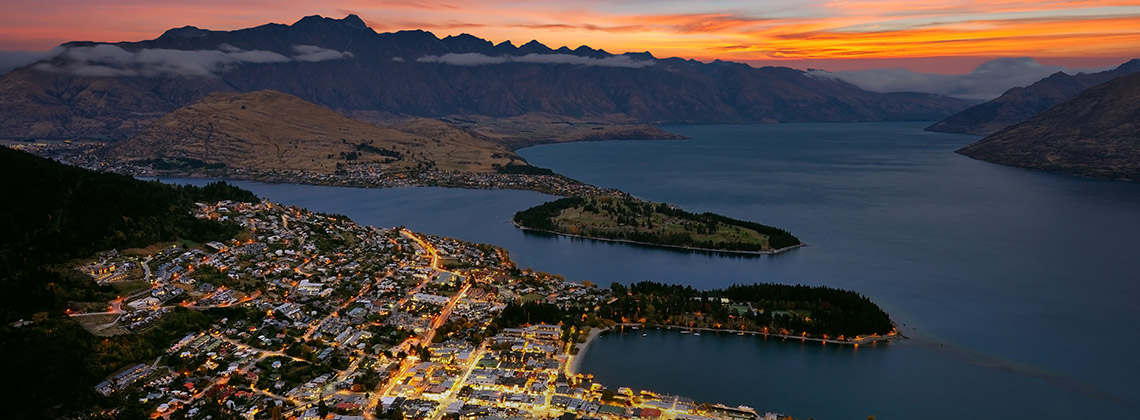 Quennstown, Yeni Zelanda
