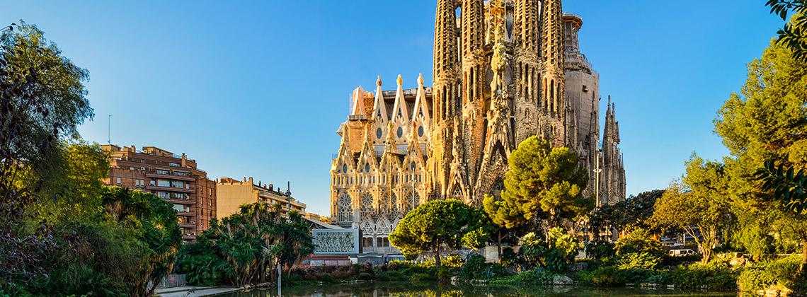 Sagrada Familia, Barcelona, İspanya