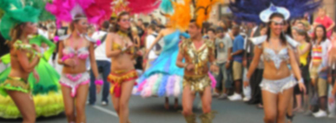 Rio Karnavalı, Rio De Janeiro, Brezilya, (Şubat başı)