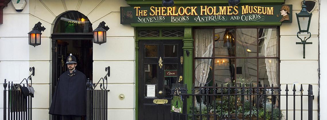 Sir Arthur Conan Doyle - Sherlock Holmes - Londra