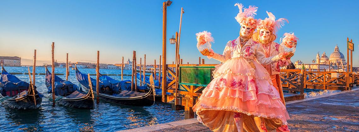 Venedik Karnavalı (Carnivale Di Venezia) Venedik, İtalya (Ocak sonu - Şubat ortası)