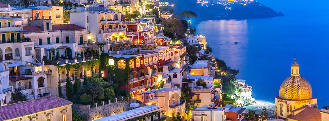 İtalya, Pasitano, Amalfi Kumsalı