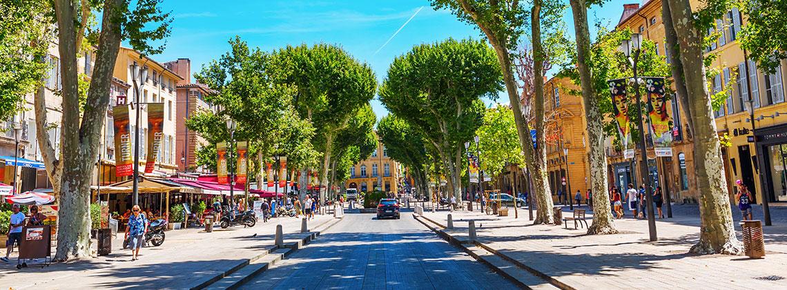 Aix-en-Provence'da Gezilecek Yerler