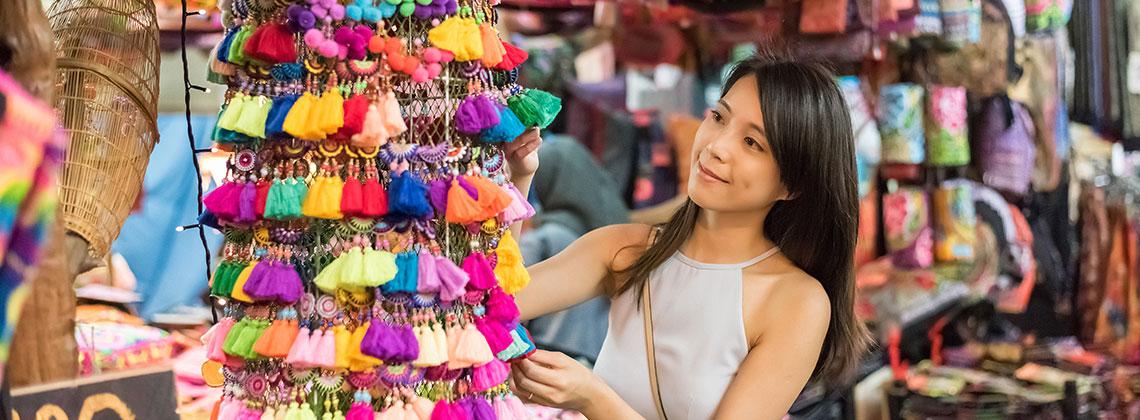 Bangkok Alışveriş