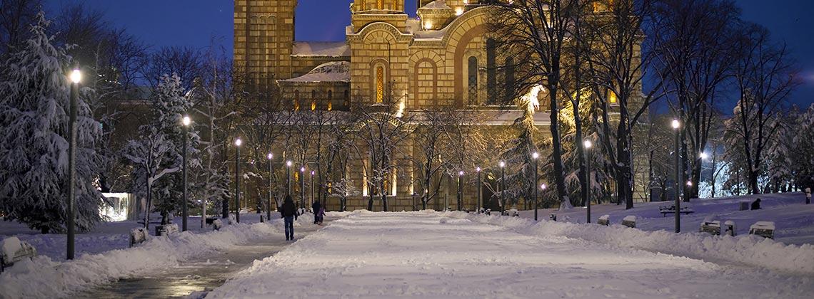 Balkanlarda Kış Bir Başka