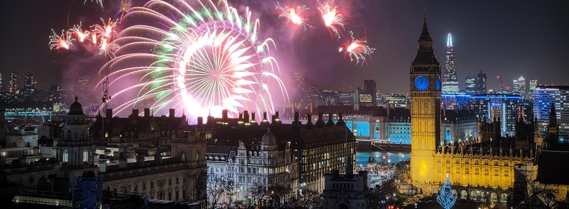 Yeni Yıl Londra'da Bir Başka Güzel