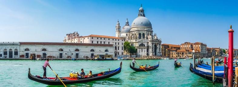 Su ile Dans Eden Şehir Venedik