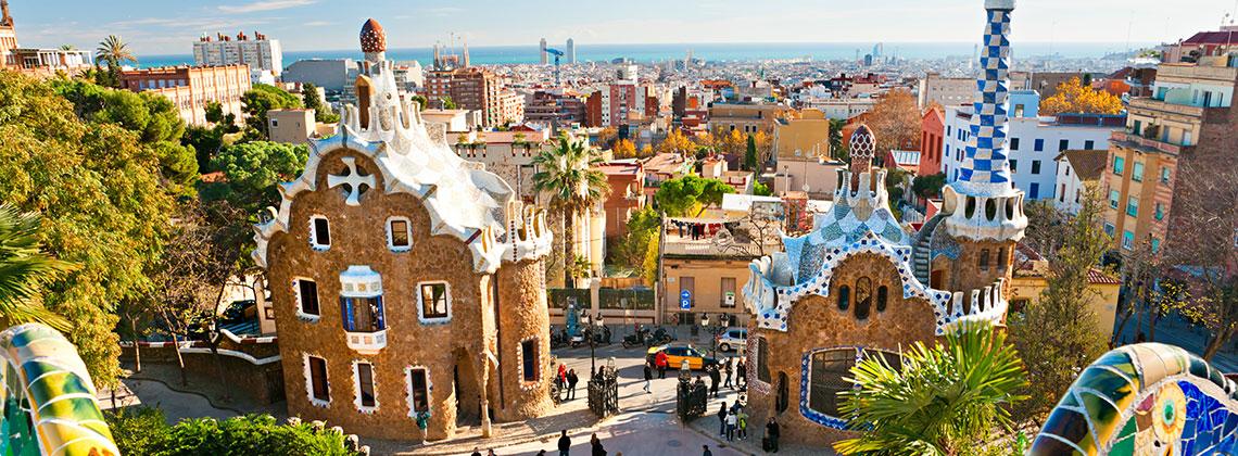 Gaudi Şehri Barselona