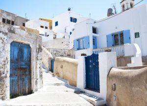 Eski Pyrgos sokakları